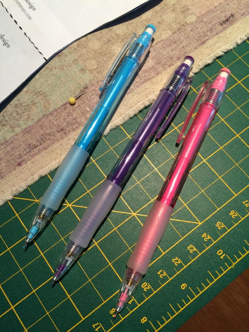 Mechanical Pencil Crayons
